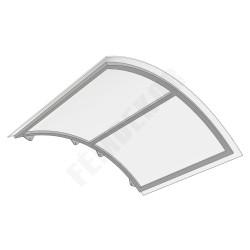 Oldalra íves előtető 100-as ajtóhoz (1400x1050)